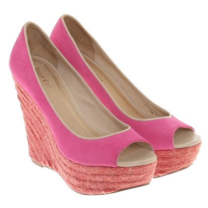 Juicy Couture Wedges in pink