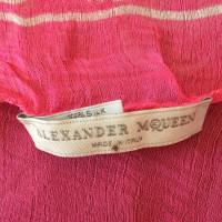 Alexander McQueen Alexander McQueen Pink Scarf