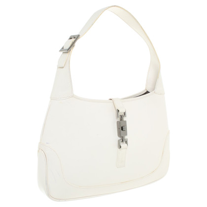 """Gucci """"Jackie Shoulder Bag"""" in het wit"""