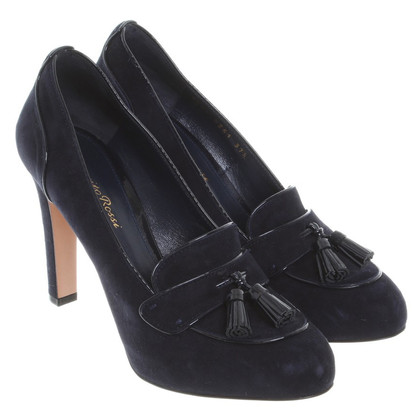 Gianvito Rossi pumps in nacht blauw