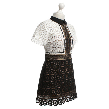 Self-Portrait Dress from crochet lace