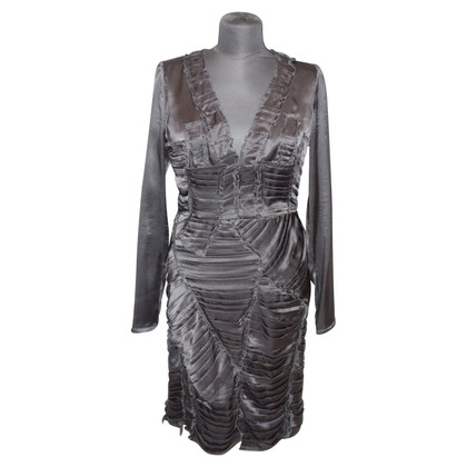 Burberry Prorsum Silk dress with drapings