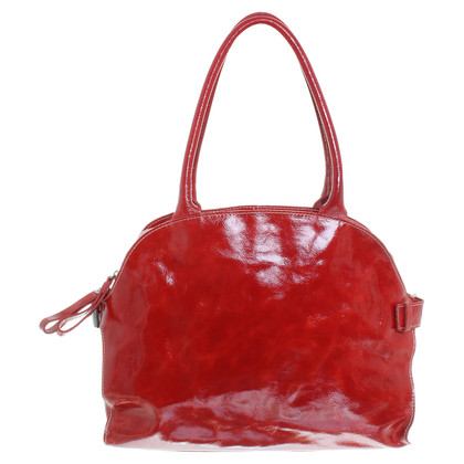 Coccinelle Red patent leather handbag