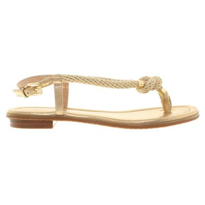 Michael Kors Goudkleurige sandalen