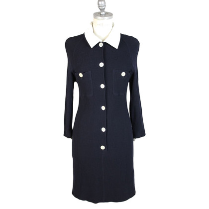 Valentino Valentino wool blue dress