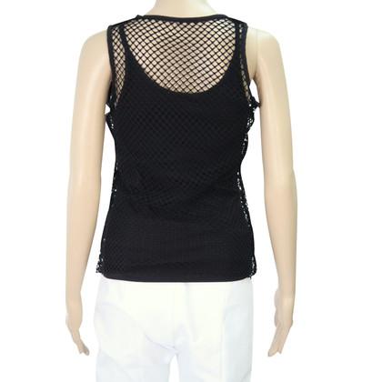 Karen Millen top with net coating