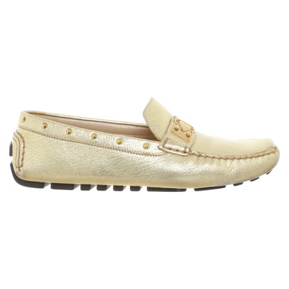 Louis Vuitton Loafers in gold