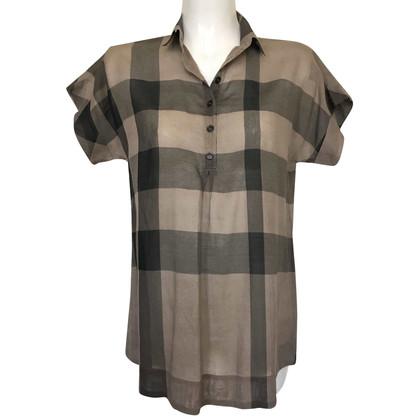 Burberry Camicia con motivo a quadri