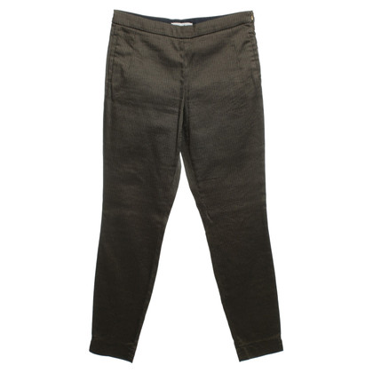 René Lezard Trousers in black/beige