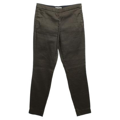 René Lezard Pantaloni in nero/beige