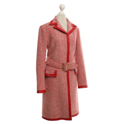 D&G Coat in red / white