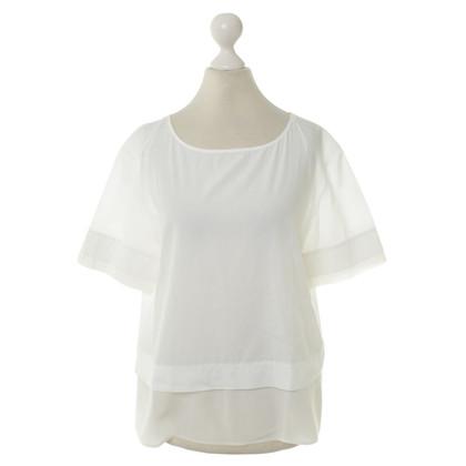 Van Laack Katoenen blouse wit