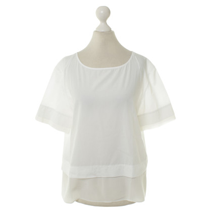 Van Laack Cotton blouse in white