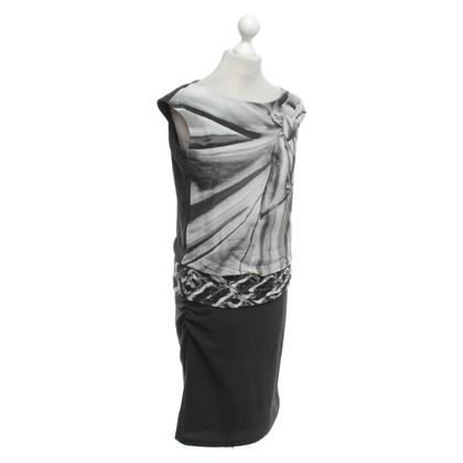 Luisa Cerano Vestito in grigio / nero