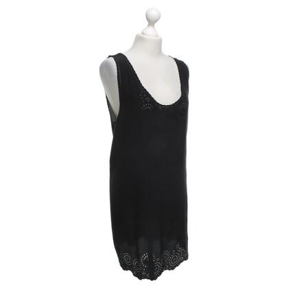 Joie zijden jurk in zwart