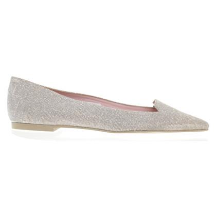 Pretty Ballerinas Loafer mit schimmernder Oberfläche