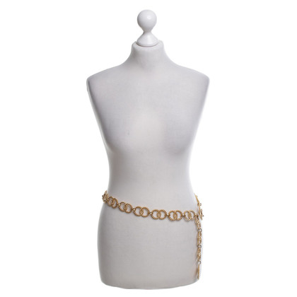 Chanel Gold colored chain belt