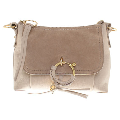 "See by Chloé ""Joan Bag"" in Taupe"