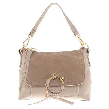 "See by Chloé ""Joan Bag"" coloris taupe"