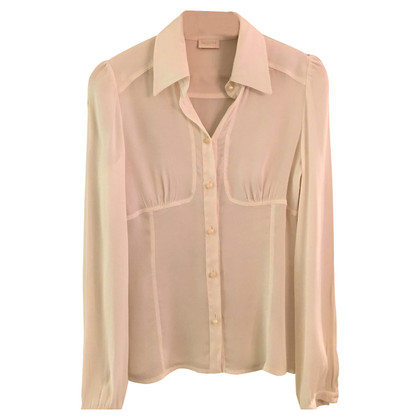 Valentino Silk blouse in white