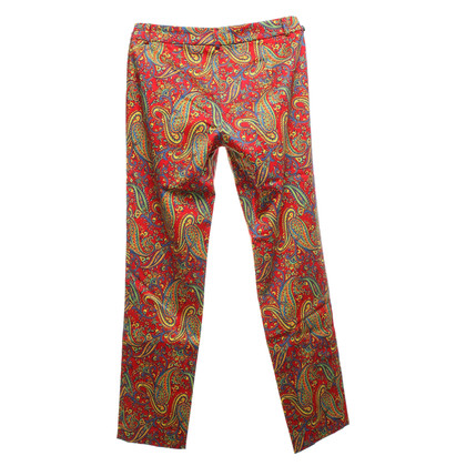 Ralph Lauren trousers with paisley pattern