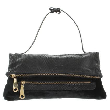 Schumacher Handbag with velvet
