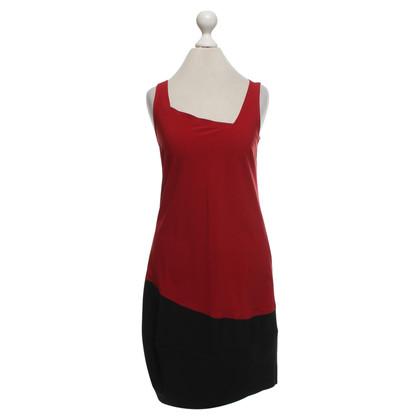 Marithé et Francois Girbaud Dress in red / black