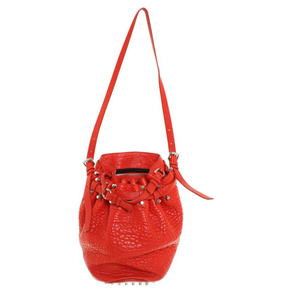 "Alexander Wang ""Diego Bag"" in red"