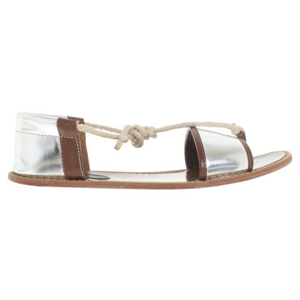 Marni for H&M Sandalen in Braun