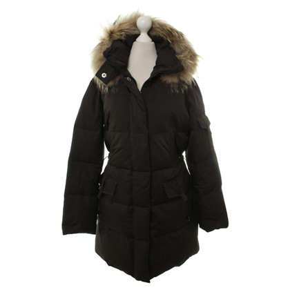 Cinque Down coat with fur
