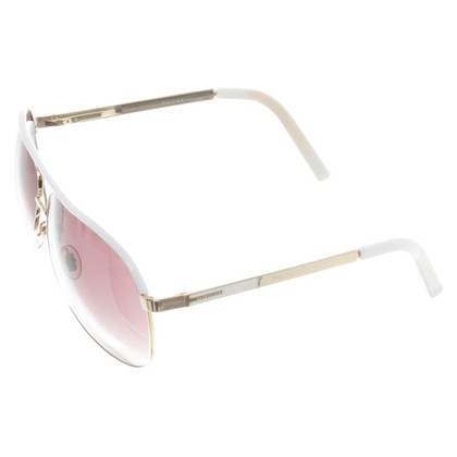Gucci Aviator sunglasses gold/purple