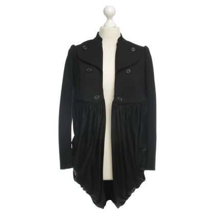 Moschino Jacket with ruffle hem