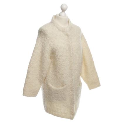 Cos Wollen jas in wit