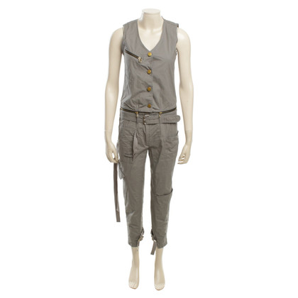Jet Set Overall in grey