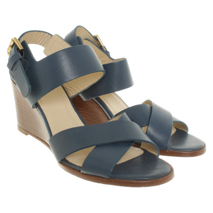 Navyboot Sandals with wedge heel