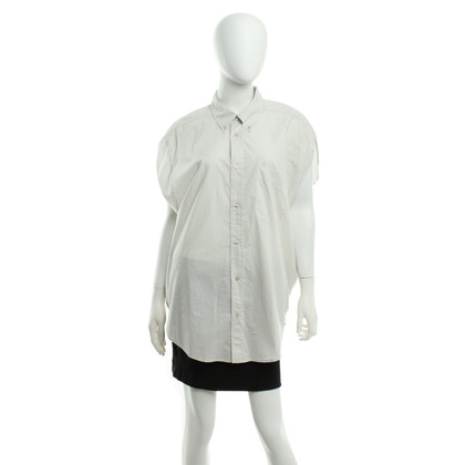 Maison Martin Margiela for H&M Bluse in Hellgrau