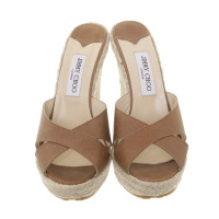 Jimmy Choo Wedge sandals in the Materialmix