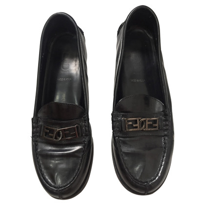 Fendi Loafers in zwart