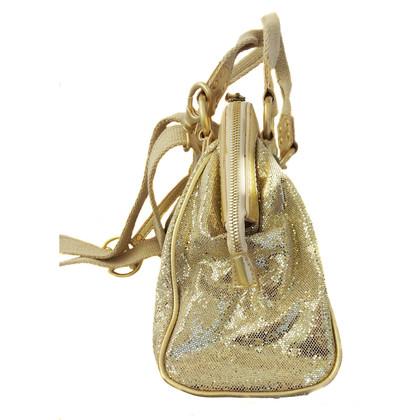 Coccinelle Gold sequin bag
