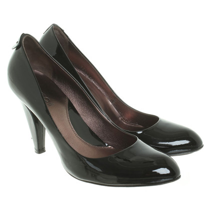 Hugo Boss pumps in lakleder