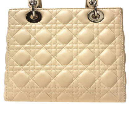 "Christian Dior ""Lady Dior"" in cream"
