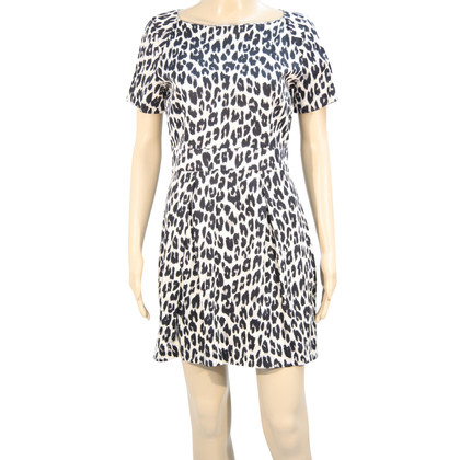 French Connection Kleid mit Tierprint