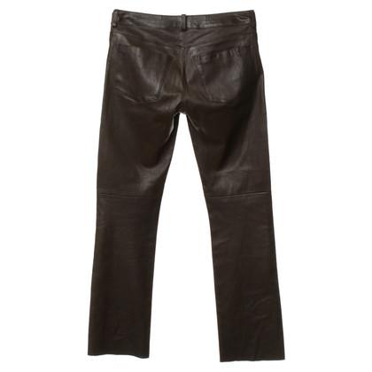 Andere merken Schacky&Jones - leder broek in bruin
