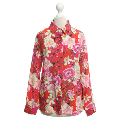 Other Designer Isolda - Blouse with rose print
