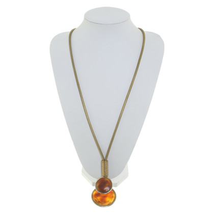Yves Saint Laurent Necklace with gemstone trimming