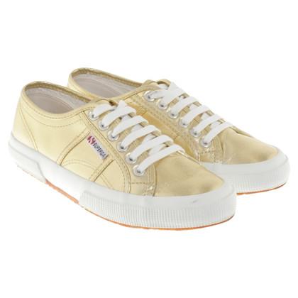 Superga Goudkleurige sneakers