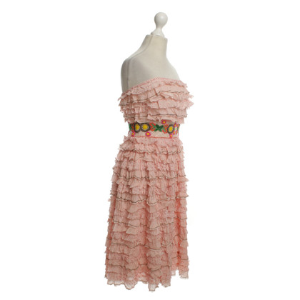 Manoush Volant Dress in Pink