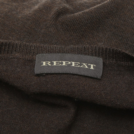 Braun Cashmere Repeat Repeat in Cashmere Dunkelbraun Pullover SwHgx