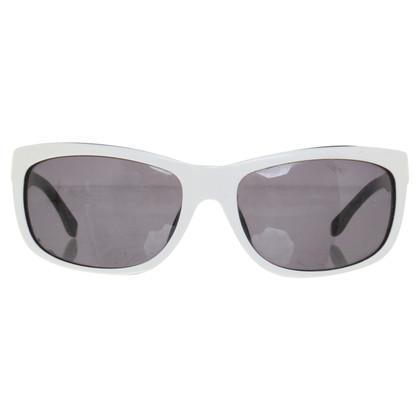 Max Mara Sonnenbrille in Schwarz/Weiß