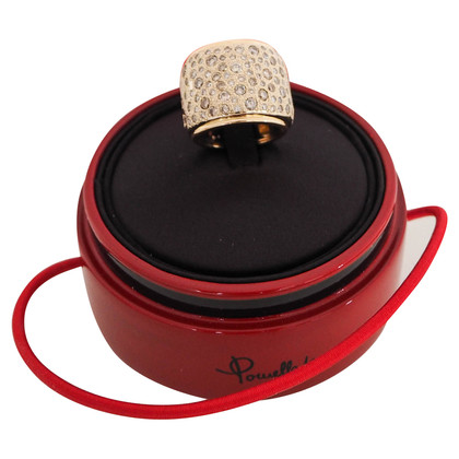 Pomellato Rosé / wit gouden ring
